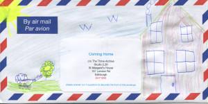 community envelope art